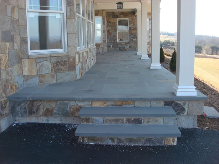 Bluestone Patio And Steps